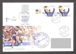Estonia 2001 Stamp FDC Olympic Champion Erki Nool, Sydney 2000 Mi 390 REGISTERED - Summer 2000: Sydney - Paralympic