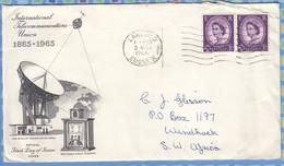 Great Britain Cover South West Africa SWA - 1966 (1965) - ITU Wildings - 1952-.... (Elizabeth II)