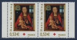 N° 3840 Du Carnet Croix-Rouge 2005, Faciale 0,53 € X2 - Ongebruikt