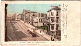 61la 62 CPA - SAN FRANCISCO - CALIFORNIA STREET HILL - San Francisco