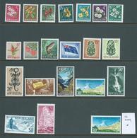 New Zealand 1967 Decimal Definitives Part Set Of 21 1/2c - $2 Fine Mint , Most MLH - Unused Stamps