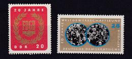 20 Jahre FDGB 20 Jahre WGB, ** - DDR