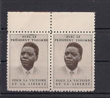 """Katanga Vignette **  """" Tshombe Victoire Et Liberté """" - Katanga"""