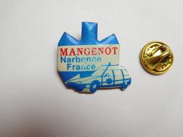 Beau Pin's , Médical , Ambulances Mangenot à Narbonne , Aude , Auto Citroën XM , ATTENTION : Visuel Légerement Effacé - Médical