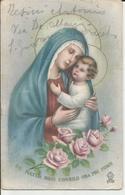 MATER BONI CONSILII VIAGGIATA 1944  (14) - Vergine Maria E Madonne