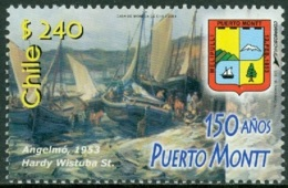 CHILE 2003 CITY OF PUERTO MONTT, FISHING BOATS** (MNH) - Chile