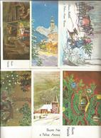 23 CARTOLINE AUGURALI  (21) - Cartoline