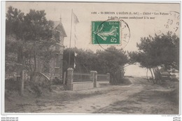 SAINT BREVIN L'OCEAN CHALET LES RATONS A DROITE AVENUE CONDUISANT A LA MER 1912 TBE - Saint-Brevin-l'Océan