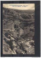 0550 . CHATEAU NEUF DE CHABRE . VALLEE DE LA MEOUGE . LE TUNNEL . ANNEE  1938 - France