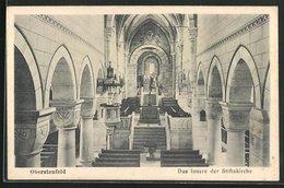 AK Oberstenfeld, Innenansicht Der Stiftskirche - Sin Clasificación