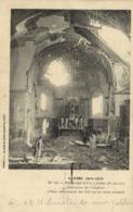 Militaria Guerre 1914 1915 FONCQUEVILLERS ( P De C) Interieur De L'Eglise Obus Allemand De 210m/m Non éclaté RV - Autres Communes