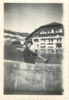 MEGEVE 1945  CHALET SAINTE GENEVIEVE PHOTO ORIGINALE  FORMAT 9 X 6.50 CM - Places