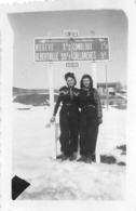 MEGEVE 1945 PHOTO ORIGINALE 7 X 4.50 CM - Places