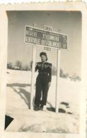 MEGEVE 1945 PHOTO ORIGINALE 7 X 4.50 CM - Lieux
