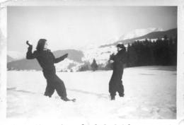 MEGEVE 1945  PHOTO ORIGINALE  9 X 6 CM - Places