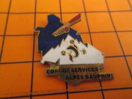 2519 Pin's Pins / Belle Qualité Et Rare / THEME EDF GDF : SERVICES ALPES DAUPHINE MONTAGNE - EDF GDF