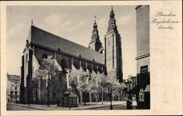 Cp Breslau In Schlesien, Magdalenenkirche - Schlesien