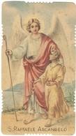 Santino Fustellato S. Gabriele Arcangelo Con Orazione GN Dep.3161 (419) - Images Religieuses