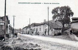 Rachecourt-sur-Marne. Route De Joinville. (Garage, Poste à Essence) - Other Municipalities
