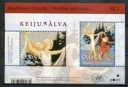 Finnland Mi# Block 40 Postfrisch MNH  - Norse Mythology - Finlande