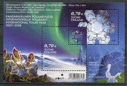 Finnland Mi# Block 40 Postfrisch MNH  - Polar Year - Finlande