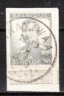 115  Pellens - Bonne Valeur - Oblit. Centrale SINAY(WAAS)  - Sur Fragment - LOOK!!!! - 1912 Pellens