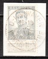 115  Pellens - Bonne Valeur - Oblit. Centrale O.L.V. WAVER  - Sur Fragment - LOOK!!!! - 1912 Pellens