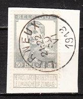 115  Pellens - Bonne Valeur - Oblit. Centrale LIERNEUX  - Sur Fragment - LOOK!!!! - 1912 Pellens