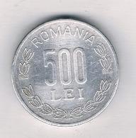 500 LEI 1999  ROEMENIE /1199/ - Roumanie