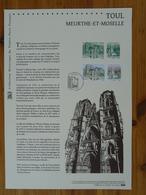 Document Officiel FDC 16-523 Cathédrale De Toul 54 Meurthe Et Moselle 2016 - Eglises Et Cathédrales