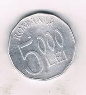 5000 LEI 2002  ROEMENIE /1200/ - Roumanie