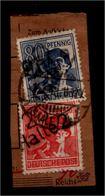 SBZ 1948, Nr 176+181 IV Auf Paketkartenabschnitt (94370) - Sowjetische Zone (SBZ)