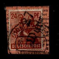SBZ 1948, Nr 174 V Auf Paketkartenabschnitt (94419) - Sowjetische Zone (SBZ)