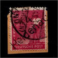 SBZ 1948, Nr 177 II Auf Paketkartenabschnitt (94408) - Sowjetische Zone (SBZ)