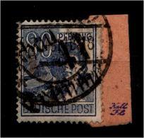 SBZ 1948 Nr 180 X Auf Paketkartenabschnitt (94440) - Sowjetische Zone (SBZ)