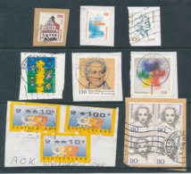 Allemagne - Lot De Timbres Sur Fragments - Collezioni