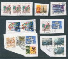Suisse - Lot De Timbres Sur Fragments - Lotti/Collezioni