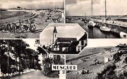 MESQUER-QUIMIAC - Multivues - Plage Et Port De Kercabellec - Bourg Et Avenue Et Plage De L'Ansérie - Mesquer Quimiac