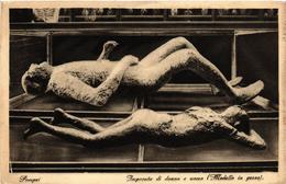 CPA Pompei Impronta Di Donna E Uomo. ITALY (527234) - Pompei