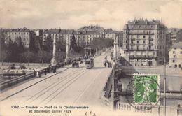 Genève (GE) Pont De La Coulouvrenière Et Boulevard James Fazy - GE Genève