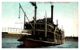 Ohio, River Steam Boat , Princess - Schiffe