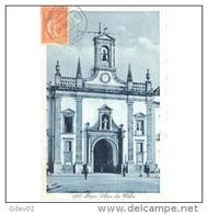 PTGLTP1258C-LFTD4579TBARAN.TARJETA POSTAL DE PORTUGAL.personas Acuden A La Iglesia,FAROIglesia - Antigüedad