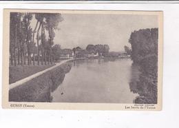 CPA  DPT89 GURGY, LES BORDS DE L YONNE - Gurgy