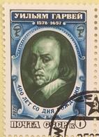 USSR Russia 1978 - One 400th Birth Anniversary William Harvey Medicine Health Doctor Physician People Stamp CTO Mi 4748 - Celebrations