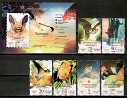 Cuba 2019 / Mammals Bats MNH Murciélagos Mamíferos Säugetiere / Cu16002  C4-14 - Cuba