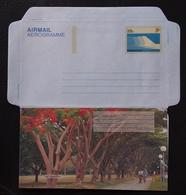 Singapore 1991 Parks Of Singapore, East Coast Park Aerogramme Unused - Singapour (1959-...)