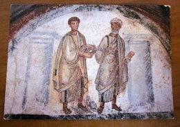 Catacombe S. Gennaro I SANTI GENNARO E PIETRO Napoli CARTOLINA Non Viaggiata - Gemälde, Glasmalereien & Statuen