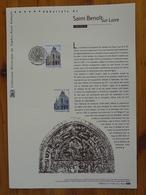 Document Officiel FDC 17-543 Abbatiale Saint Benoit Sur Loire 45 Loiret 2017 - Abbayes & Monastères