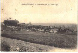 Carte   POSTALE  Ancienne De  ARCIS Le PONSART - Vue Du Chemin D'IGNY - France