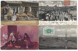 MOYEN-ORIENT Et AFRIQUE - Lot De 26 CPA - 5 - 99 Cartes